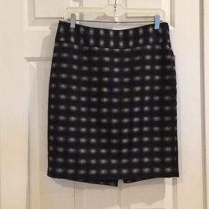 The Limited Patterned Pencil Skirt